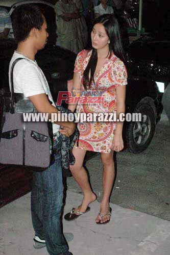 Katrina Halili in Slippers